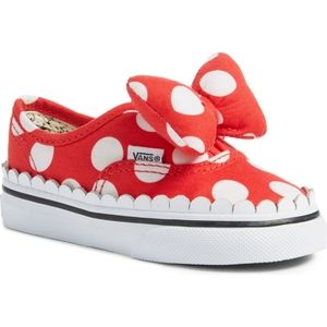 Van's Disney Minnie Mouse Toddler Girls Sneakers
